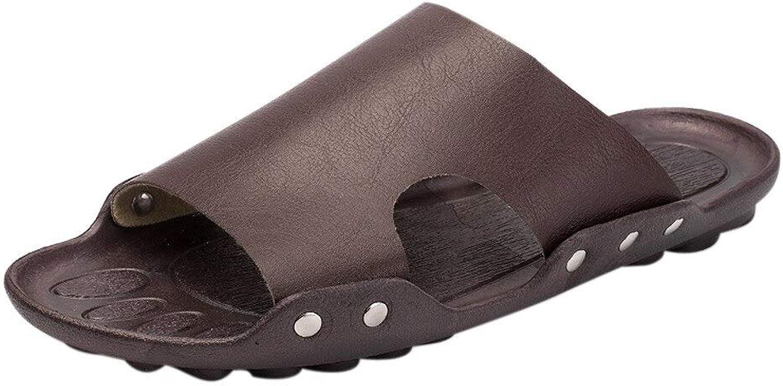 QRETYSG flip flop men's shoes Casual Beach Breathable Men Slipper Summer Home Flat Slippers shoes men's footwear flip flops