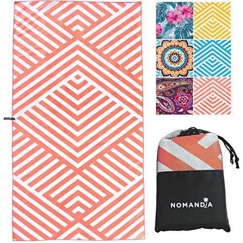 Nomandia Microfibre Beach Towel Extra Large - 180x90cm Sand Free...