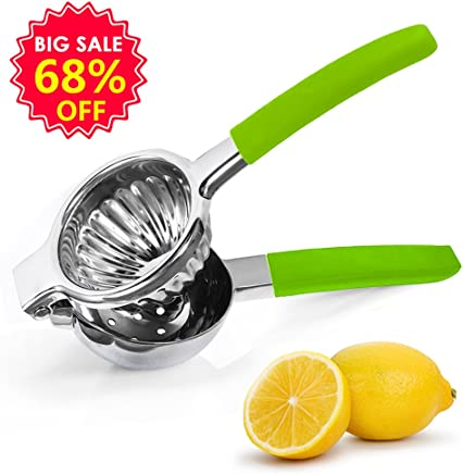 Banne Lemon Squeezer Stainless Steel Easy Operation Manual Lime Squeezer Citrus Press Juicer