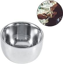 Yotown Shaving Soap Bowls, Shaving Brush Bowl Stainless Steel Hairdressing Shaving Cream Soap Mug Bowl Cup Shaver Razor Cleansing Foam Tool for Man