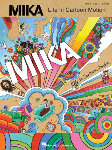 Mika - Life in Cartoon Motion Songbook (PIANO, VOIX, GU) (English Edition)