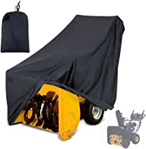 Mayhour Snow Thrower Cover Two-Stage Snow Blowers Cover Waterproof Heavy Duty Outdoor Anti-UV Dustproof Universal Size for...