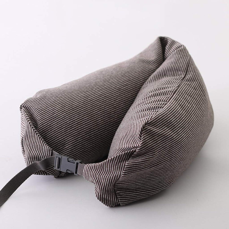 XHHWZB Twist Reisekissen, ideal für Nacken, Kinn, Lendenwirbel und Beinstütze Ultra Comfort einstellbar pflegeleicht   Hypoallergen Perfekt für Seiten-, Bauch- und Rückenschläfer (Farbe   Style C) B07MZ5PG6M  König der Menge