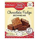 Betty Crocker Chocolate Fudge Brownie Mix (415g) - Packung mit 2 -