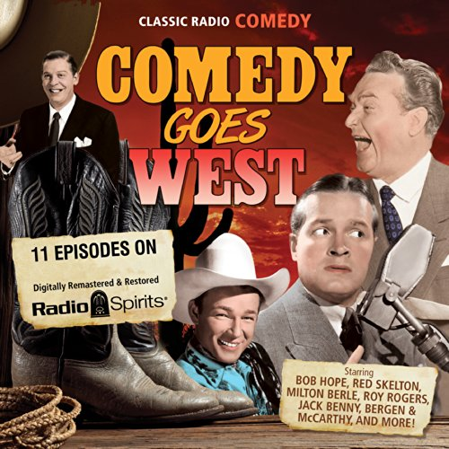 Comedy Goes West audiobook cover art