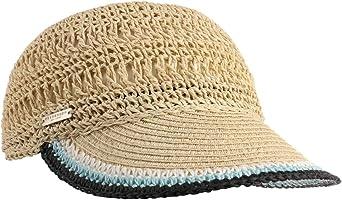 Seeberger Gorra Rollable Crochet de Paja Visera