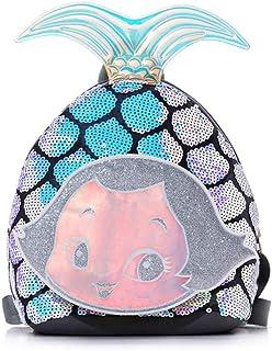 Saweky Toddler Kids Waterproof Pre School Bag Cute 3D Animal Children School Backpack (Mermaid)