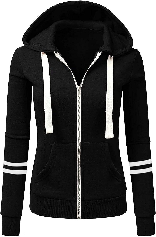 LBJTAKDP Women Teen Girl Yoga Long Sleeves Hoodie Sweatshirt Athletic Workout Running Jacket Outwear
