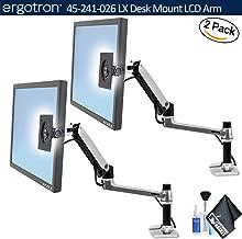lx desk monitor arm, tall pole