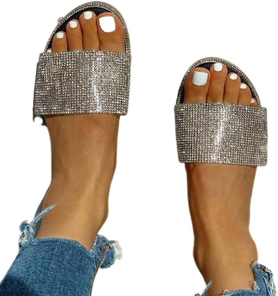 WANTALL Sandals for Women Slippers Womens Spring new work one Fashion after another S Casual