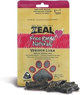 Zeal Venison Liver Treats for Dog 125g