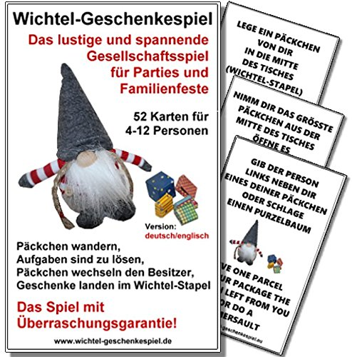 Cybernex Wichtel-Geschenkespiel / Wichtel Presents Game (Kartenspiel)