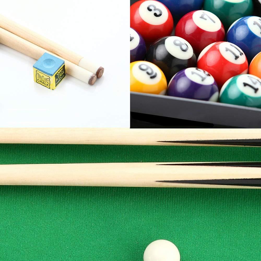 HttKse Creative Pool Tabla Espacio Guardar Tabla De Billar For Niños Y Adultos De Billar/Mesa De Billar - Regalos para niños Adultos Ayudar a Reducir el e (Color : Verde, tamaño :