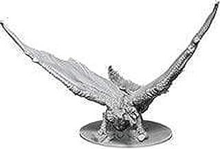 WizKids D and D Nolzurs Marvelous Young Brass Dragon Unpainted Miniatures