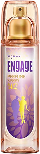 Engage W2 Perfume Spray For Women, Floral and Fruity, Skin Friendly, 120ml