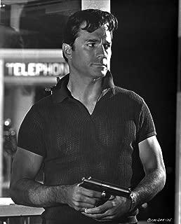 George Maharis holding a gun Photo Print (8 x 10)