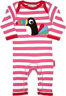 Toby Tiger Schlafanzug mit Entlein Applikat