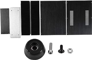 Caixa amplificadora de liga de alumínio moldada em uma peça, caixa amplificadora conveniente, resistência à corrosão para ...