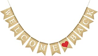 Best welcome back banner diy Reviews