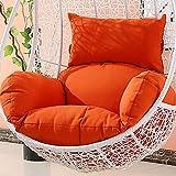 Hängenden Korb Pp-Baumwolle gefüllt Stuhl-Pads, Große Sitzkissen Hängende Ei Sessel Sitzkissen Swing Chair Pad Wiege Stuhl Matte Leinenstoff Liner