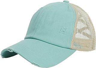قبعة بيسبول للسيدات قبعة كاوبوي خارجية مغسولة