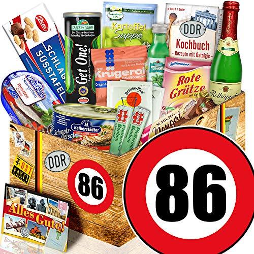 Spezialitätenset / DDR Paket L / Zahl 86 / Geschenkset Mutter