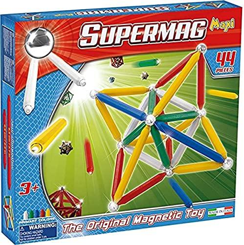 Plastwood- Gioco di Costruzioni Magnetico, Multicolore, 102
