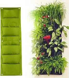 Espeedy Bolsa de cultivo de flores para plantar,Jardinera