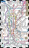 Streetwise London Underground Map - Laminated Map of the London Underground, England (Michelin Streetwise Maps)