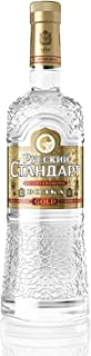 Russian Standard Gold - 40% Vodka 1 x 0,7l - Premium-Vodka aus Russland - mit Extrakten sibirischen Ginsengs