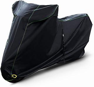 Barrichello(バリチェロ) バイクカバー ブラック M~7L 選べる8サイズ 高級 オックス 300D 使用 厚手 生地 防水 【4L】