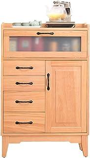 Aparador Armario Sirviendo de almacenamiento armario con puertas de entrada Cocina Comedor Living consola de madera Aparad...
