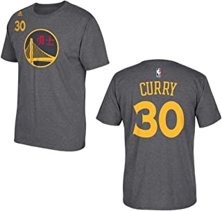 adidas Stephen Curry Golden State Warriors Chinese New Year Youth Jersey Name and Number T-Shirt