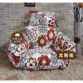 Coussin de jardin Chaise coussins coussins coussins de siège amovible et lavable oiseau oiseau oiseau balançoire…