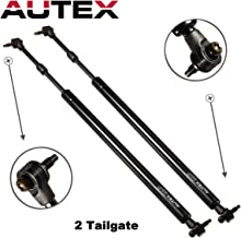 Autex 2pcs Rear Door Hatch Liftgate Gate Lift Trunk Supports Shock Strut Arms Compatible With Chrysler PT Cruiser 2001 02 03 04 05 06 07 2008 SG214024