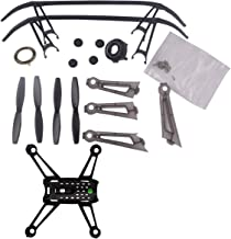 YouCute Spare Part Kit for UDI U31 U31W U36 U34W U36WH T25 Rc Quadcopter Drone Rotor Blade Protecting Frame led Covers