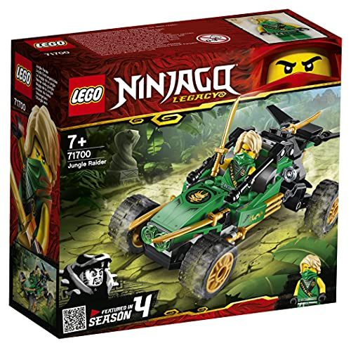 LEGO Ninjago FuoristradadellaGiungla con Minifigura di Lloyd, Set da Costruzione Torneo degli Elementi, 71700