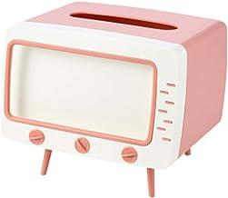 Miwaimao Creative TV boîte à mouchoirs Bureau Porte-Papier Distributeur Stockage Serviette Organisateur avec Support de té...