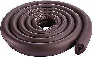 2Roll,Black 13Ft//4M Uneven Edge Bumper Corner Cushion for Bed Tv Cabinet Kitchen Countertop W-Shape