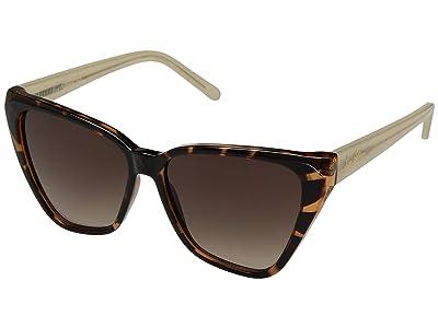 Sam Edelman Plastic Two-Tone Cat Eye (Tortoise) Fashion Sunglasses
