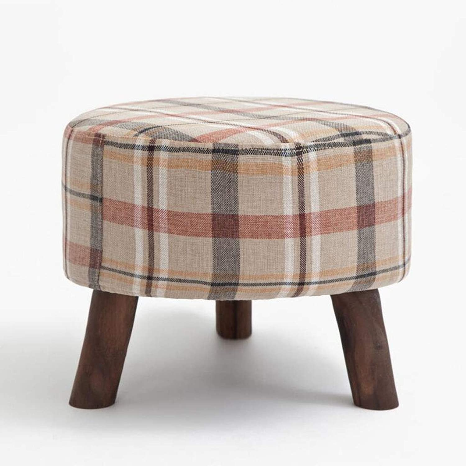 Fabric Sofa Bench 50  35  19 cm Solid Wood shoes Bench Modern stools Creative Footstool shoes Shop shoes Bench shoes Bench (color   A5)