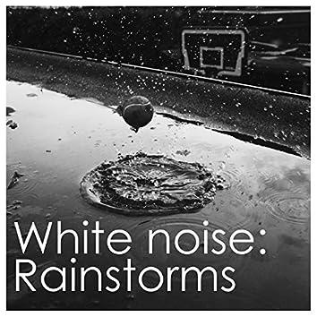 2018 Rain Sounds Collection - White Noise