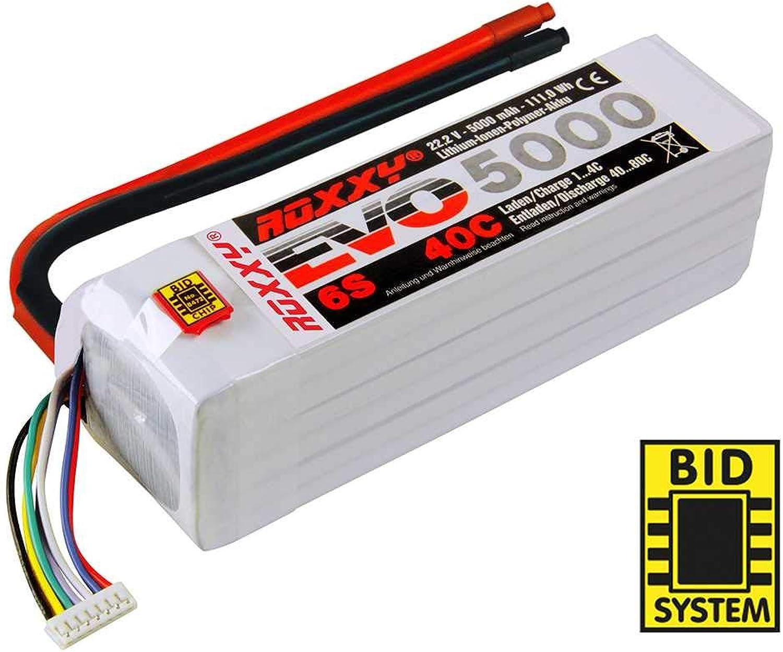 316992 - Multiplex LiPo-Akku ROXXY Evo 6-5000 40C