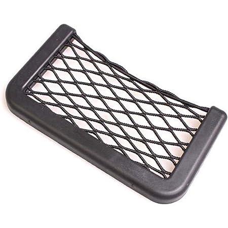 Vi Yo Ablagenetz Universal Ablagefach Aufbewahrungsnetz Auto Sitztasche Organizer Halter Ideal Für Handy Schlüssel Bargeld Set Von 1 Size 20 8 5cm Auto