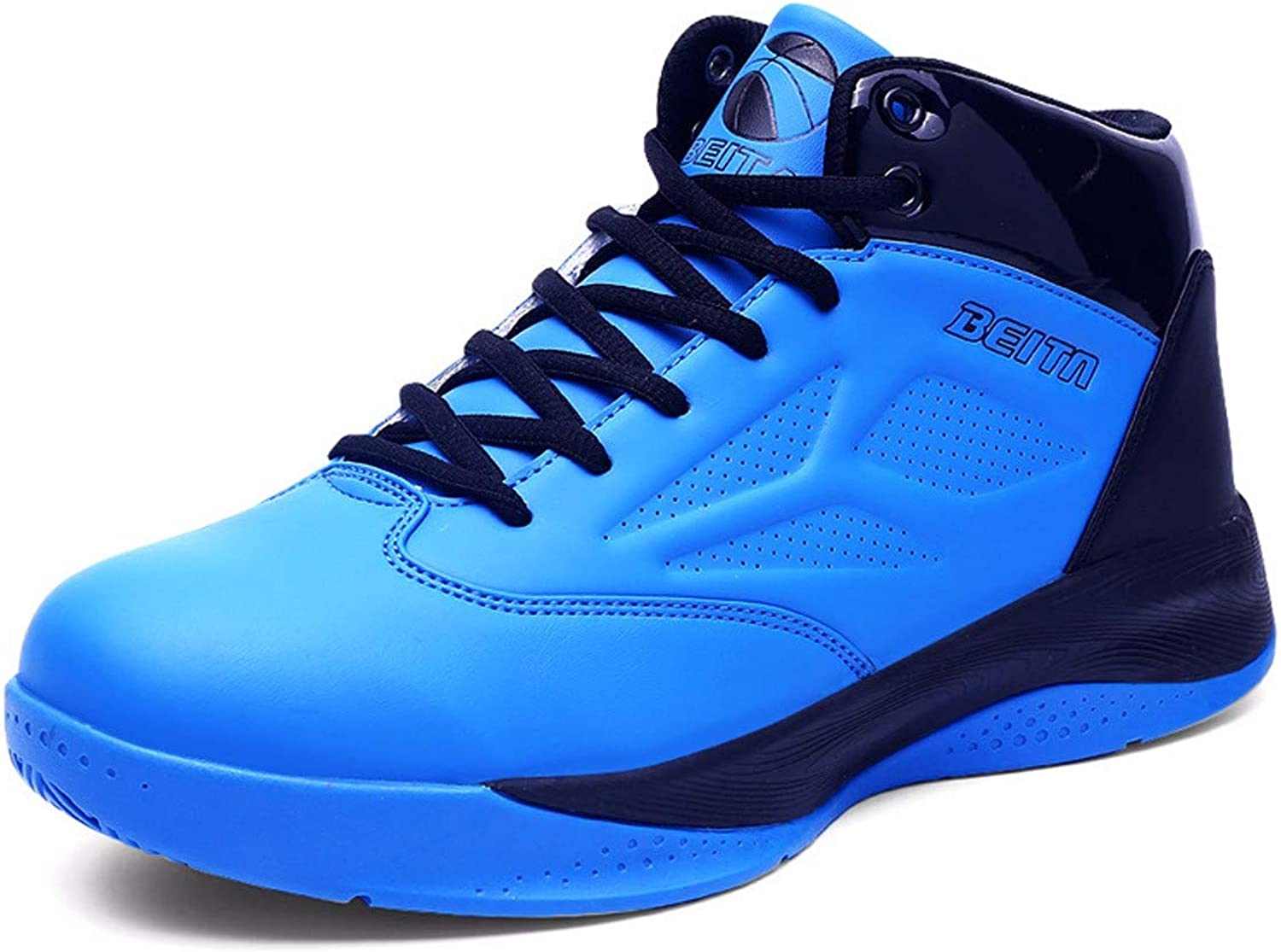 KMJBS-Spring And Summer Basketball shoes Men High Wear Anti Slip Comfort Breathable Students
