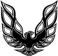 Pontiac Firebird Trans Am Hood Bird Sticker Decal Vinyl Black,white, Red or Gold (Black)
