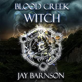 Blood Creek Witch audiobook cover art
