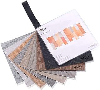 Euroharry Suelo de vinilo PVC Lamina Suelo 5,02m² Baldosas Suelo Antideslizantes Insonorizadas suelo de diseño estructurado (Libro de patrones)