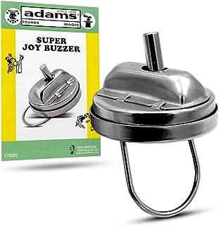 Adams Pranks and Magic - Super Joy Buzzer Gag Toy - Classic Novelty Prank Toy