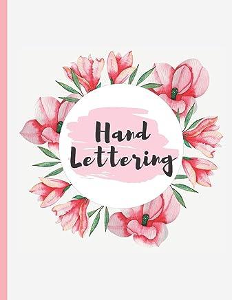 Hand Lettering: 100 pgs Hojas Punteadas. Practica el Hand Lettering, Crea tu propia caligrafia y tus propios diseños.